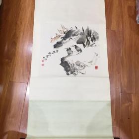 石川花鸟作品一幅