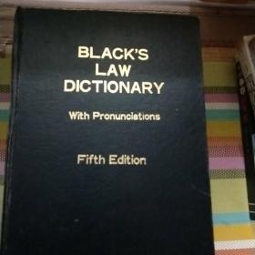 BLACK'S LAW DICTIONARY(布莱克法律词典) 第5版