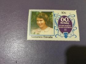 图瓦卢邮票  人物 (全新)