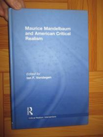 Maurice Mandelbaum and American Critical Realism      【詳見圖】