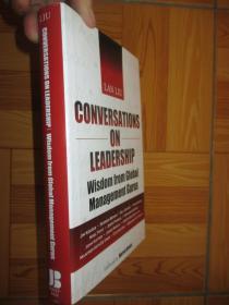 Conversations on Leadership: Wisdom from Global Management Gurus      【詳見圖】