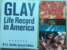 GLAY  Life Record in America 赠品4本画册