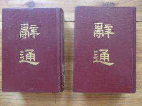辞通 二册全