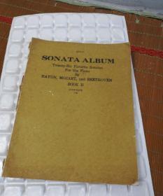 钢琴奏鸣曲选 下册 英文版