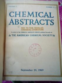 CHEMICAL  ABSTRACTS--29