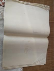 A3老白纸约30张