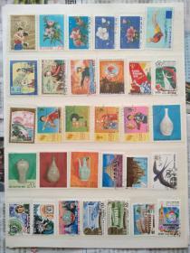 外国邮票·朝鲜盖销邮票100种不同(朝鲜正式发行的纪念邮票、特种邮票,不含小普票,实际发货108种以补可能出现的瑕疵,实图拍摄,所见即所得)