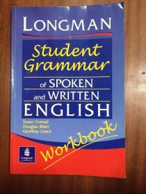 外文书店库存全新无瑕疵进口原装  Longman  Dictionary   Longman Student Grammar of Spoken and Written English Workbook 朗文口语和笔语学生语法 练习册