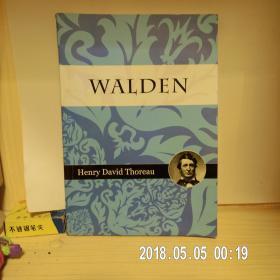 WALDEN Henry David Thoreau亨利大卫梭罗的《瓦尔登湖》