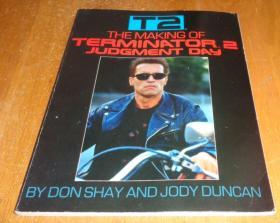 2手英文 The Making of Terminator 2 终结者2 xdc18