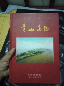 湘阴县 青山岛志---16开精装一册全--书品如图