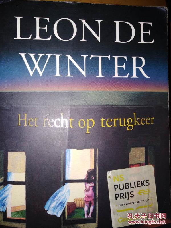 Leon de Winter:hte recht op terugkeer