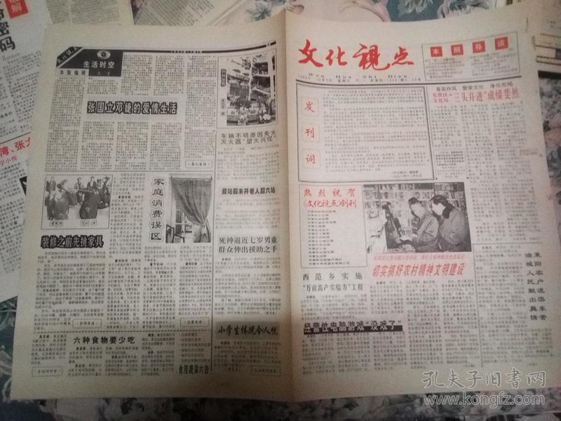 文化视点  创刊号 1998