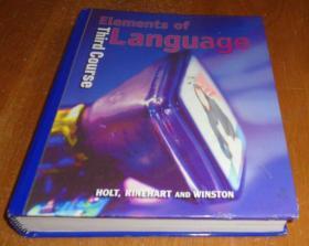 2手英文 Elements of Language: Third Course xdc19