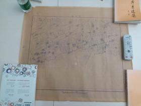 稀见民国36年上海市郊地图闵行《石家衖》