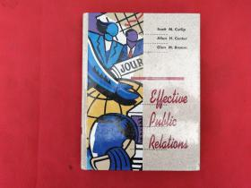 Effective Public Relations 7th Ed Edition【精装大32开】