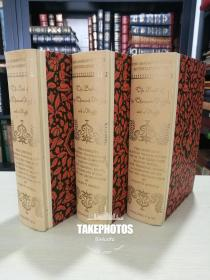 The Books of The Thousand Nights and A Night《一千零一夜》 heritage press 1962年 硬精装版 全三册