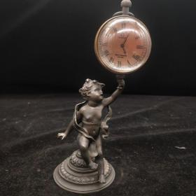 天使举钟(长期有货,能正常使用),重量420g代理转图可以加价,运费自理。