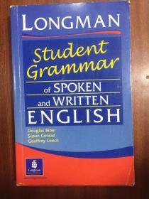 外文书店库存全新无瑕疵 Longman  Dictionary   Longman Student Grammar of Spoken and Written English朗文口语和笔语学生语法