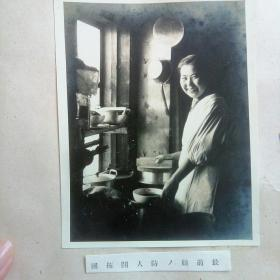 日本侵华罪证~最前线开拓团妇女,银盐泛银