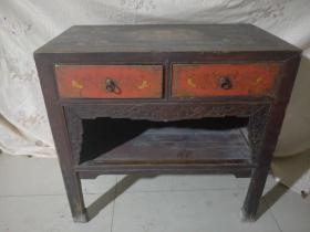 包老漆器桌子,长度87厘米,代理转图可以加价,运费自理。
