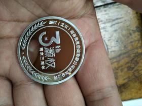 灏权南京三周年纪念银币