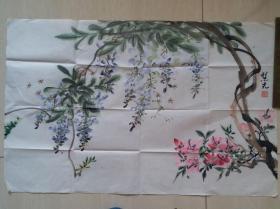 广西文史馆员,著名画家和工艺美术师,马万里之女马慧先国画