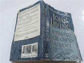 原版英法德意等外文书 A PRAYER FOR OWEN MEANY JOHN IRVING BALLANTINE BOOKS 1989年 40开平装