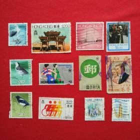 香港邮票HS19建筑物HC29结婚 HC48女皇HS47未来运动会HS17工业收藏珍藏集邮