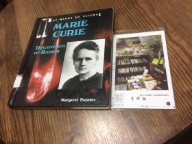 英文原版   Great Minds of Science  : Marie Curie  Discoverer of Radium  玛丽·居里 镭的发现者【存于溪木素年书店】