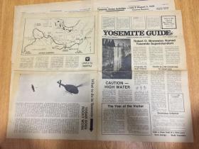 1979年《YOSEMITE GUIDE》【约塞米蒂国家公园指南】