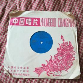 大薄膜唱片《新星音乐会节目选(二)》,愿大家都成功,风筝,谈黄色的玫瑰等11首。演唱者:朱明英,王静,吴国松。