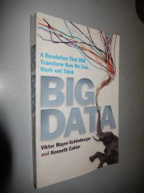 Big Data: A Revolution That Will Transform How We Live, Work and Think 英文原版 大数据时代 16开 正版原版