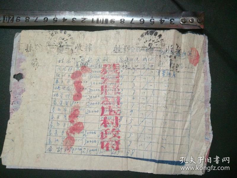 冀鲁豫边区:邮票单一张