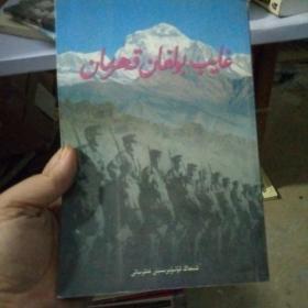绝版书 消失的英雄 维吾尔文