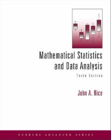 Mathematical Statistics and Data Analysis 3rd
