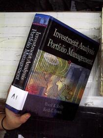 INVESTMENT  ANALYSIS PORTFOLIO MANAGEMENT投资分析组合管理 16开(A1)