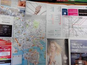 Stockholm map 斯德哥尔摩旅游地图(英文版)