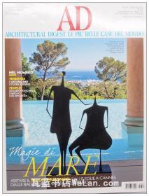 AD杂志意大利语版 2014年6月刊 建筑辑要 安邸 建筑文摘 样板房装饰陈列外文杂志 ARCHITECTURAL DIGEST