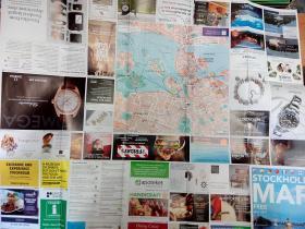 Stockholm map 斯德哥尔摩旅游地图(英文版)2016-2017