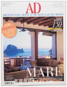 AD杂志意大利语版 2013年6月刊 建筑辑要 安邸 建筑文摘 样板房装饰陈列外文杂志 ARCHITECTURAL DIGEST