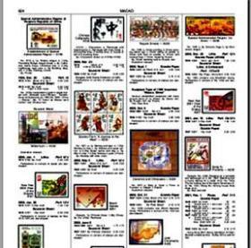 SCOTT斯科特邮票《澳门卷》pdf,(英文彩色)2009版.电子目录.包邮