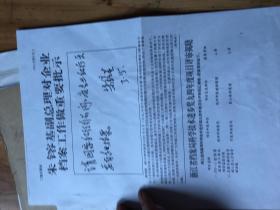 上海市文史研究馆馆员武重年手稿2567:《市政协八届四次会议大会发言 档案 历史的见证人 等一些材料》等一些