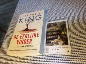 荷兰文原版  De eerlijke vinder 诚实的发现者【存于溪木素年书店】