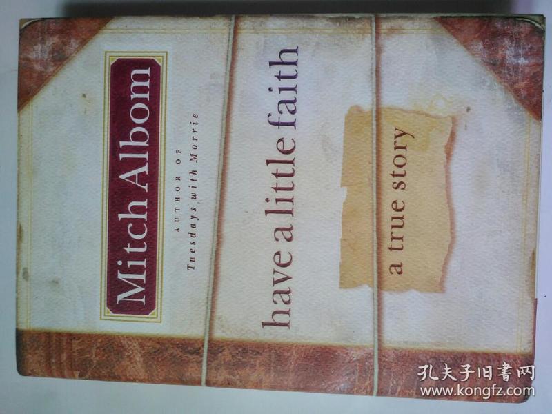 Have a Little Faith: A True Story 小信仰