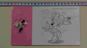 迪士尼明信片(5张 原塑封未拆)