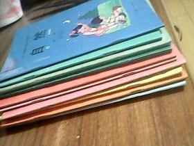 九年义务教育六年制小学教科书 自然第2.3.4.6.7.8.9.10.11.12册10本合售