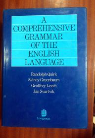 1 英国进口原装馆藏未阅  Dictionary  A COMPREHENSIVE GRAMMAR OF THE ENGLISHLANGUAGE 英语语法大全
