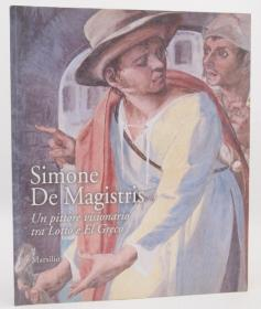 Simone De Magistris 艺术展览Catalogo della mostra 意大利文