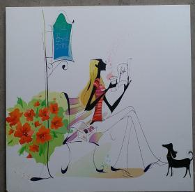 现代简约时尚装饰木版画      每块150元,赌博网:三块共450元。